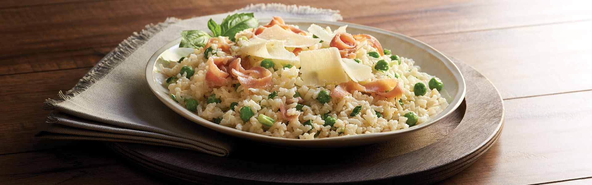 Prosciutto and Green Pea Risotto