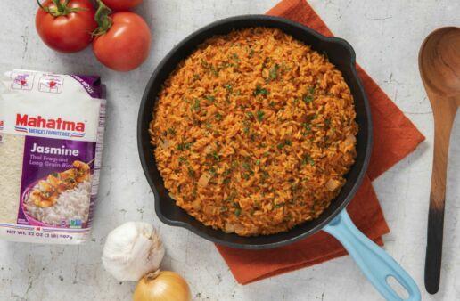 Spanish-Rice-Dish-with-Mahatma-Thai-Jasmine-Rice