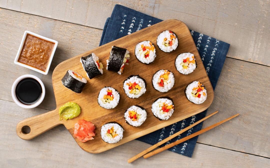 Guía para principiantes: cómo preparar sushi casero