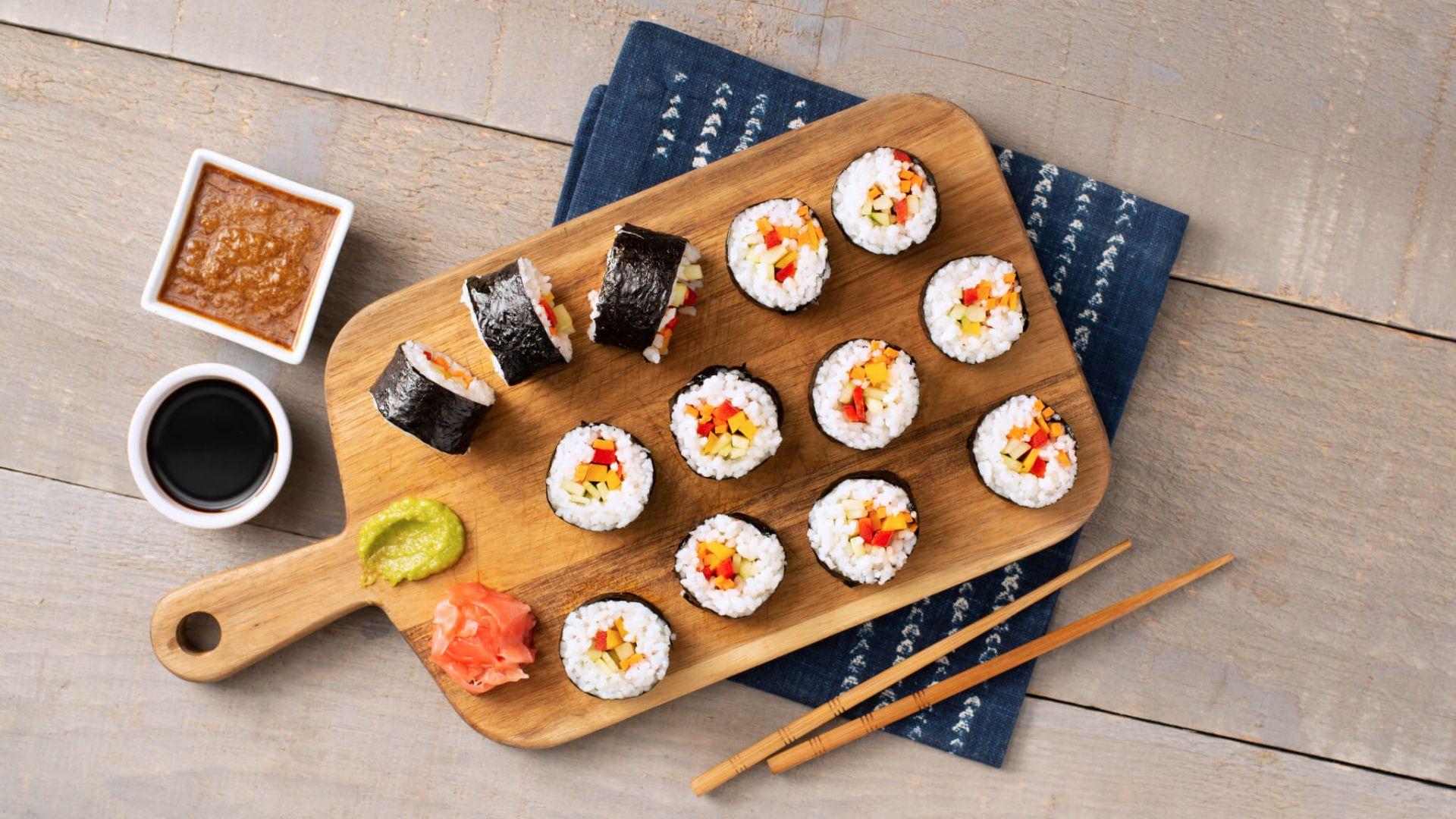 Vegetarian Sushi Rice