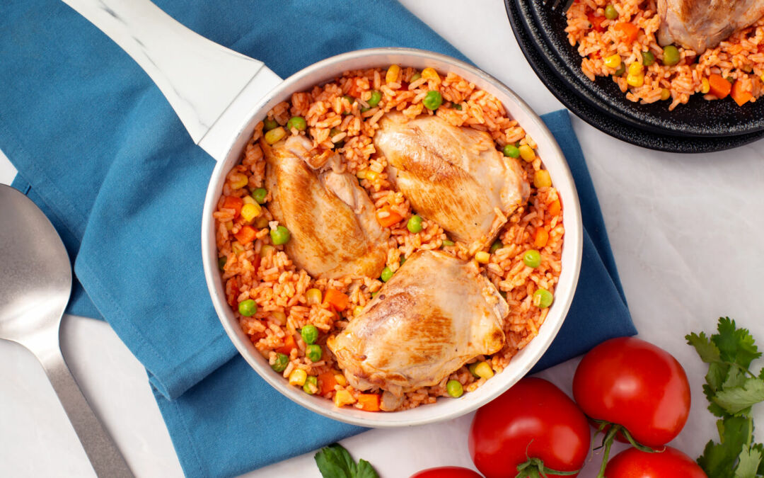 Tasty Chicken and Rice Meals