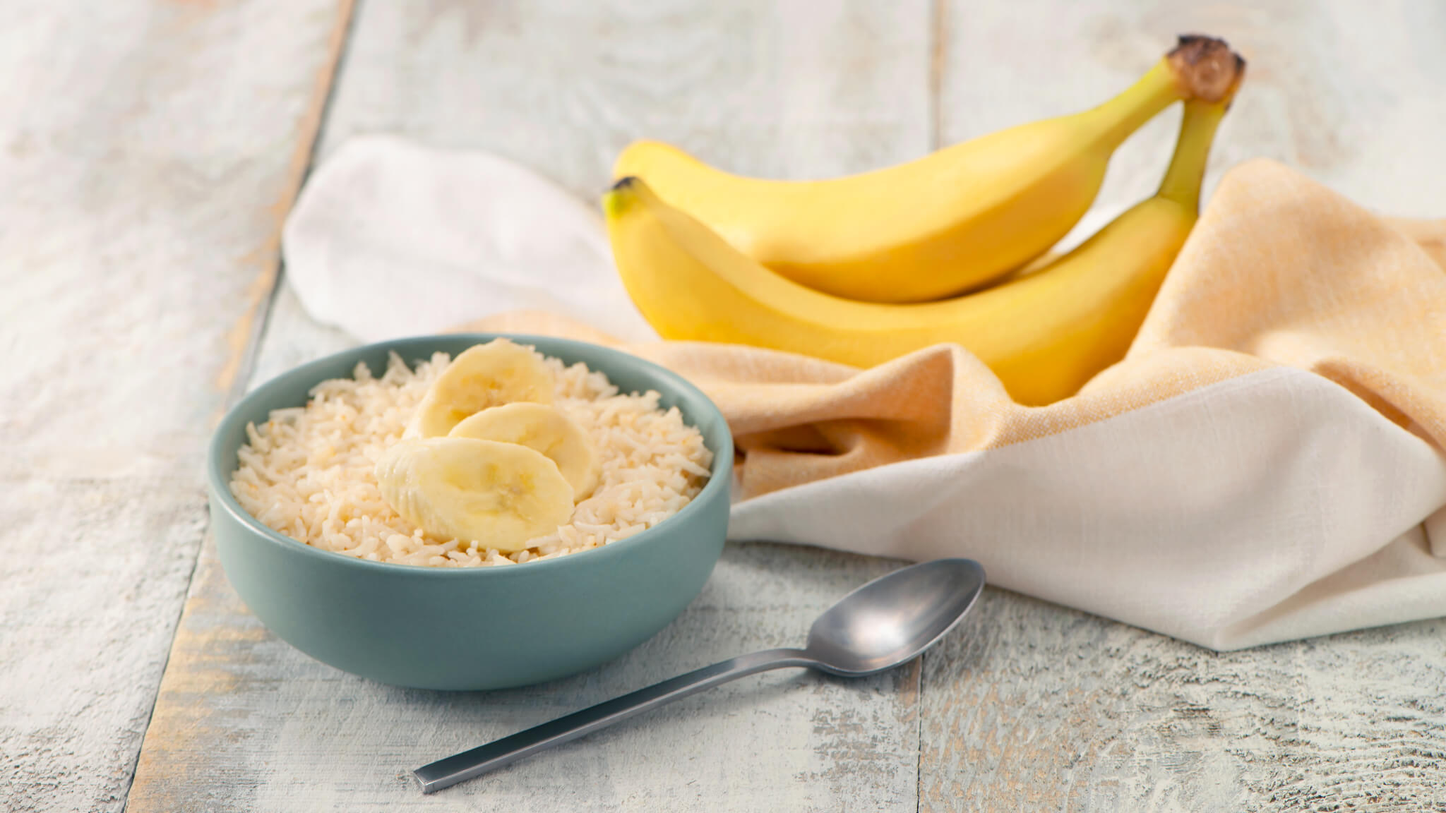 Breakfast Basmati Rice with Bananas