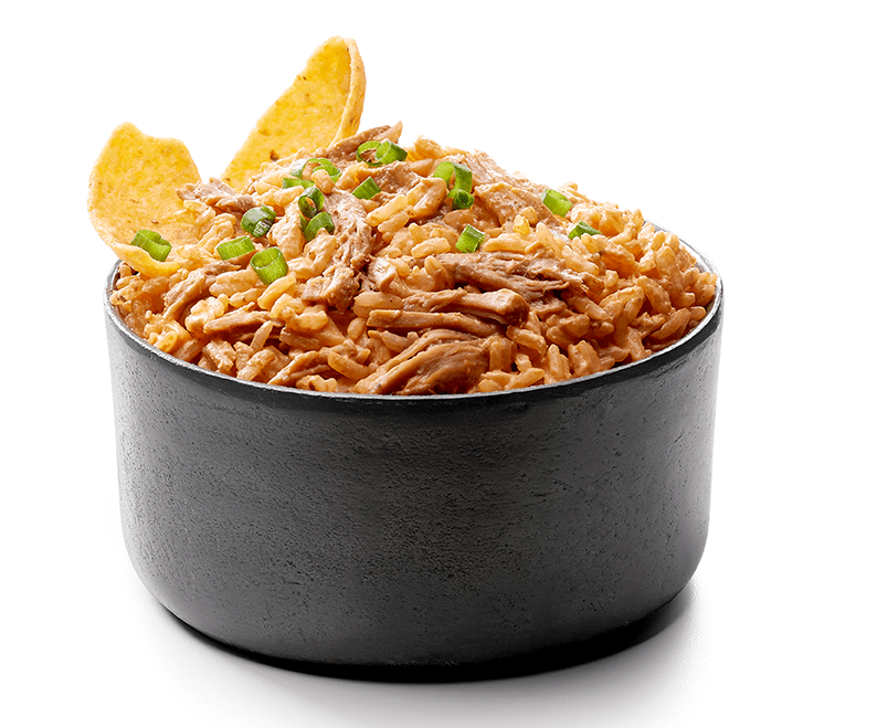 Barbecue Pulled Pork Rice Dip