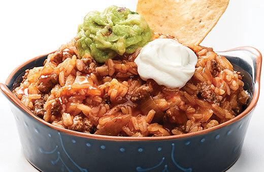 Beefy Enchilada Dip