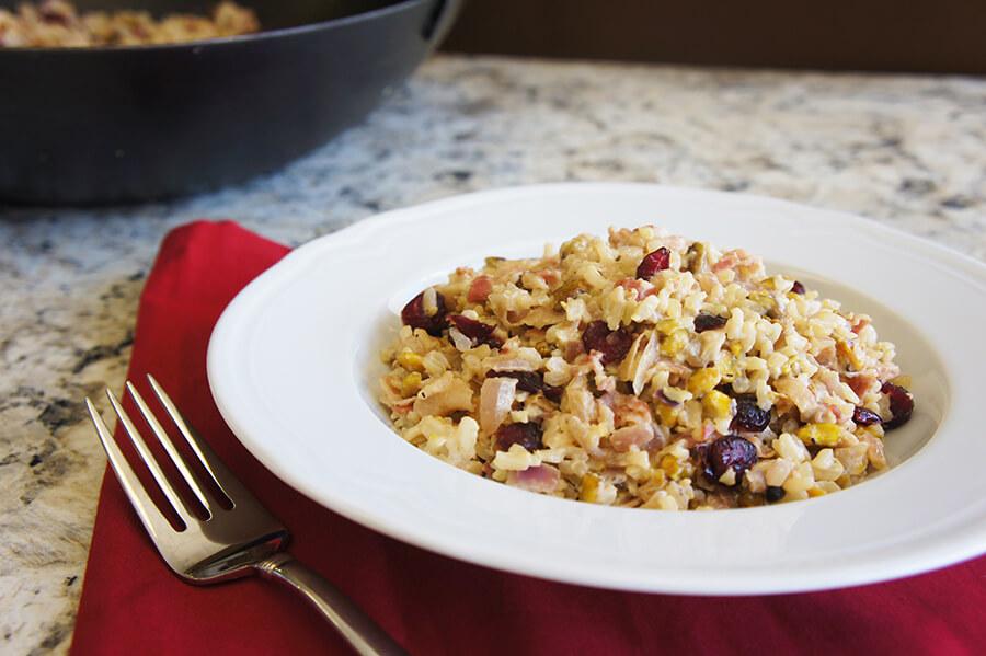 Creamy Pancetta Rice