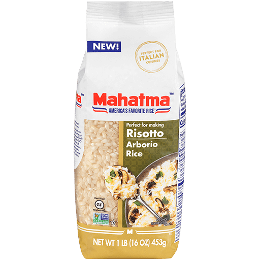 Authentic grains arborio medium grain rice specially made for risotto