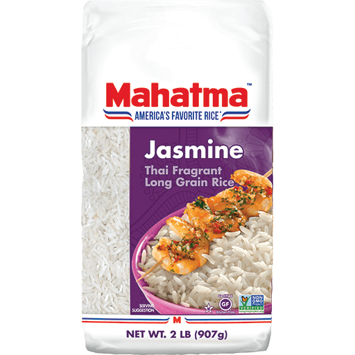 Thai fragrant long-grain jasmine white rice