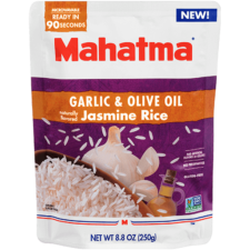 Garlic & Olive Oil Jasmine Rice | Ready to Serve in 90 Seconds