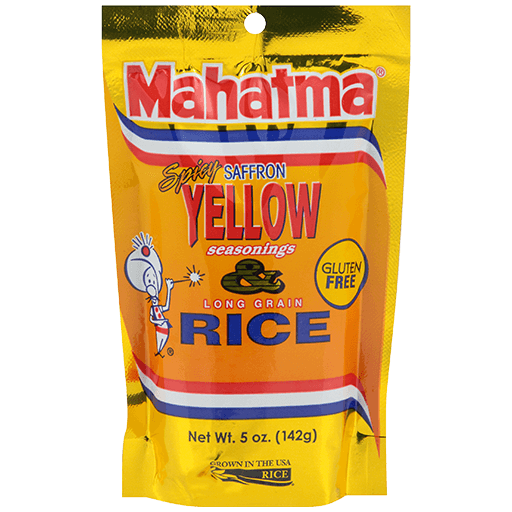 Spicy Yellow Seasoned Rice Blend