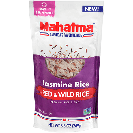 Jasmine with Red and Wild Rice bag