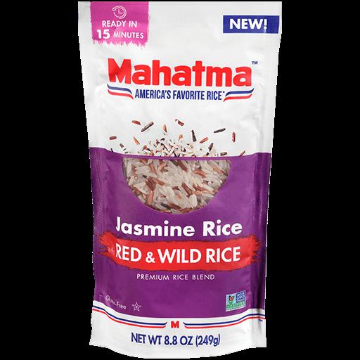 Paquete de Arroz Mahatma® mezcla de arroz jazmín y arroz salvaje rojo