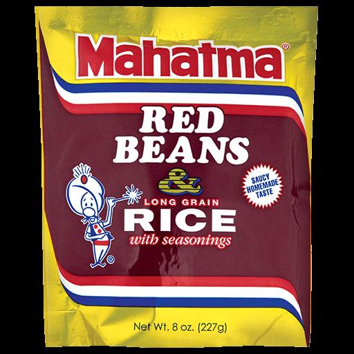 Paquete de mezcla de frijoles rojos y arroz sazonado Mahatma®