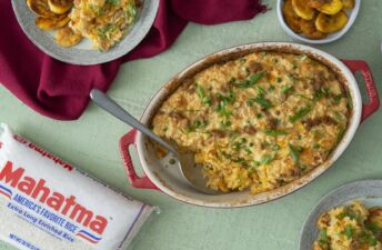 Canned Tuna and White Rice Puff Casserole