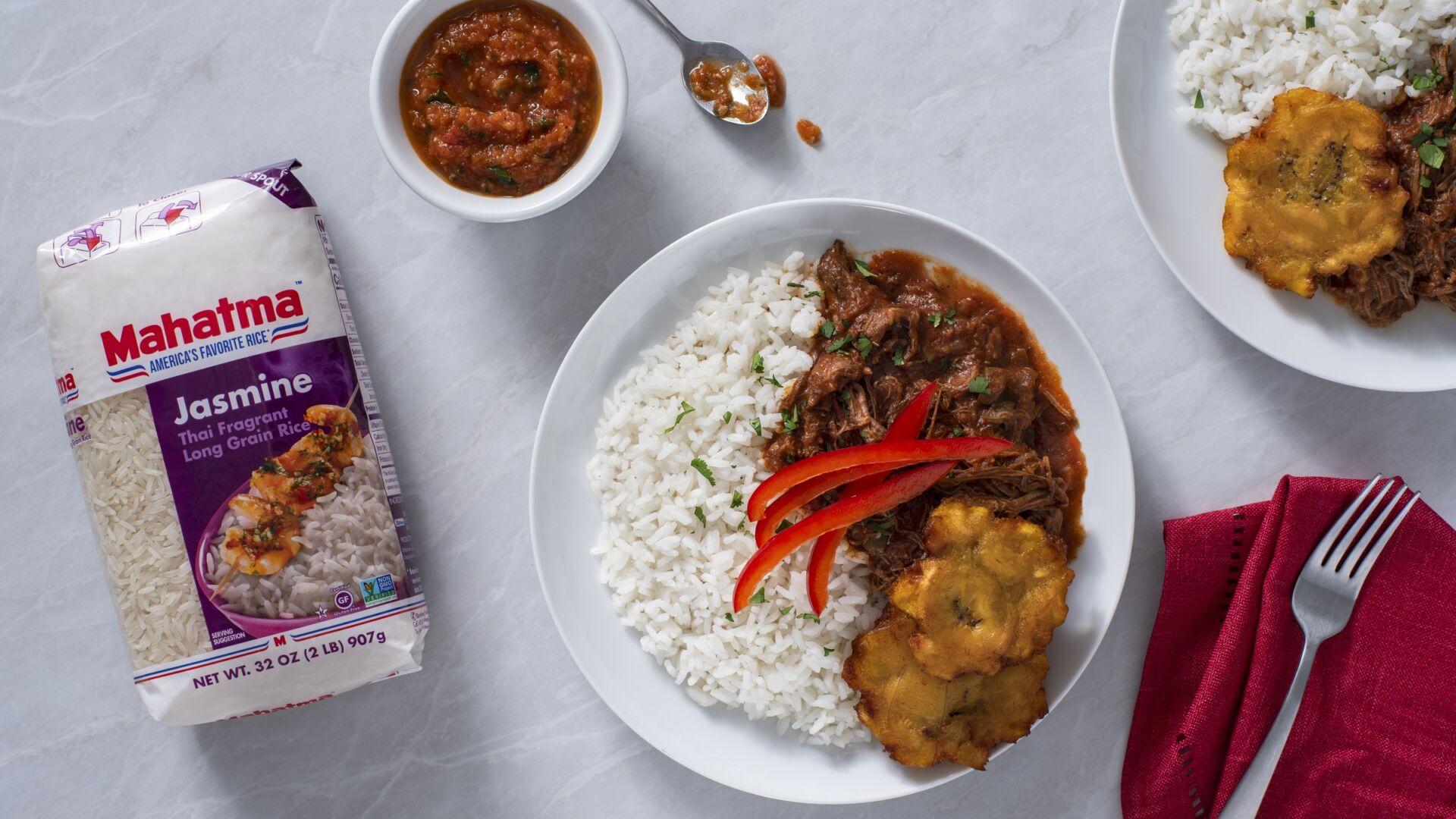 Ropa vieja con arroz