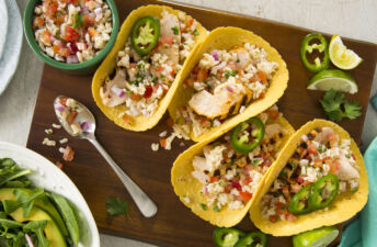 Grilled-chicken-and-rice-tacos-with-brown-rice