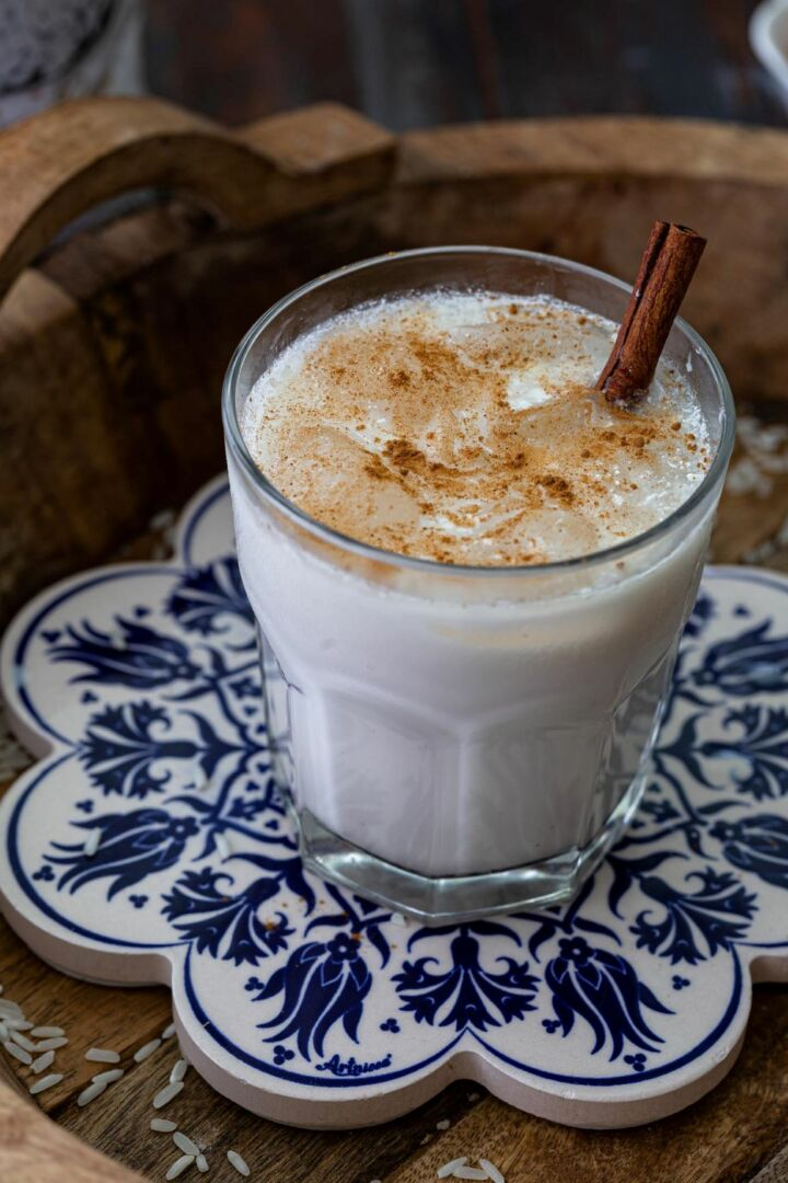 homemade mexican horchata
