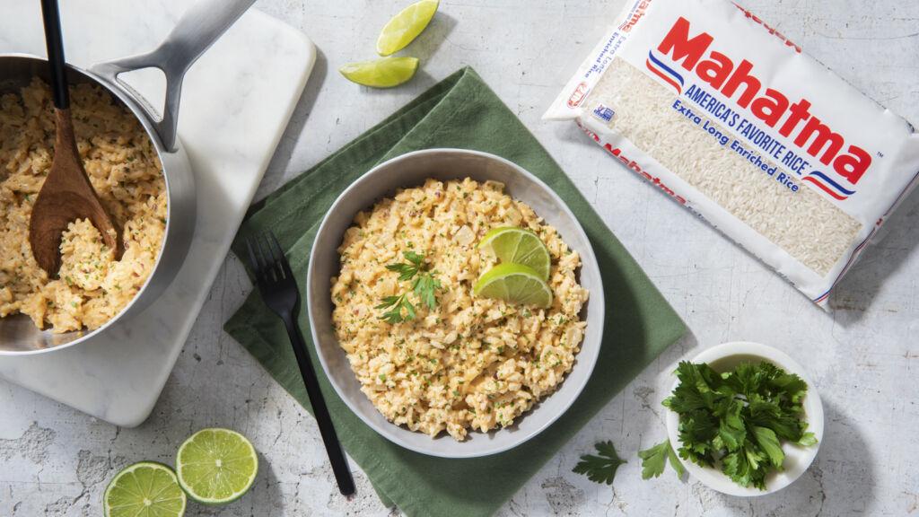 Chipotle-Queso-Rice
