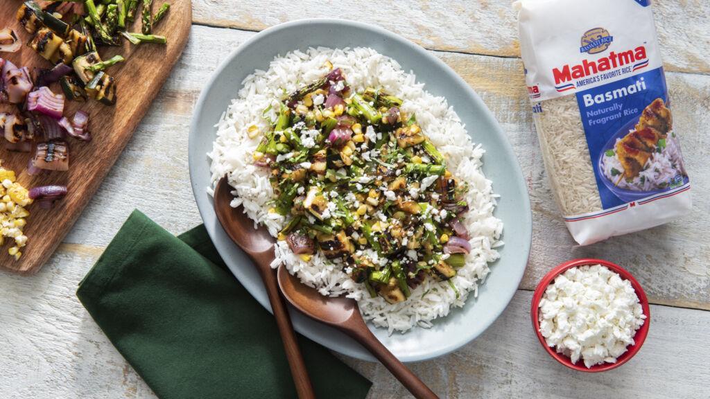 Grilled-Summer-Vegetable-Rice-Salad