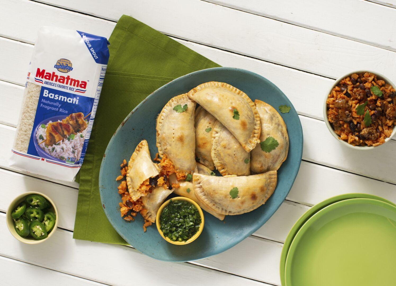 Empanadas with Chorizo and Rice