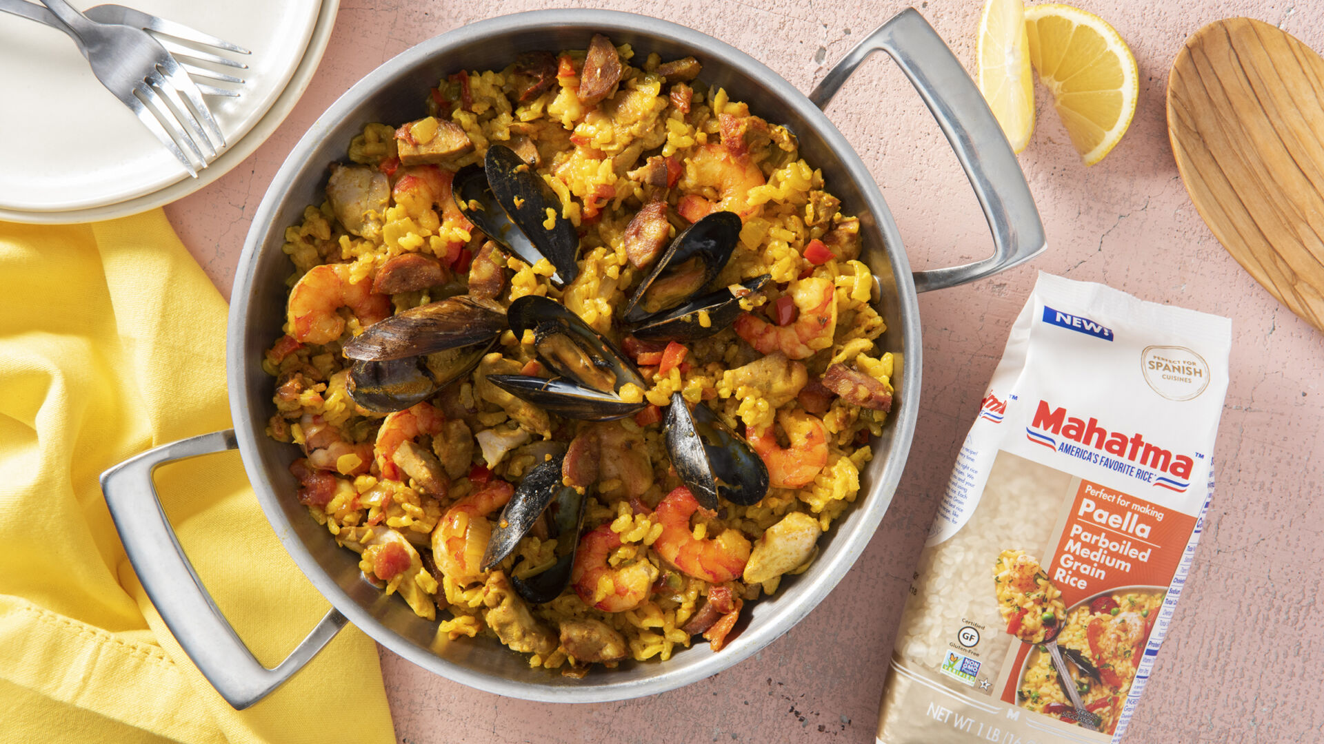 Mexican-Style Seafood Paella