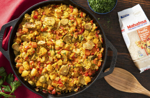 Roasted Harvest Veggie Paella