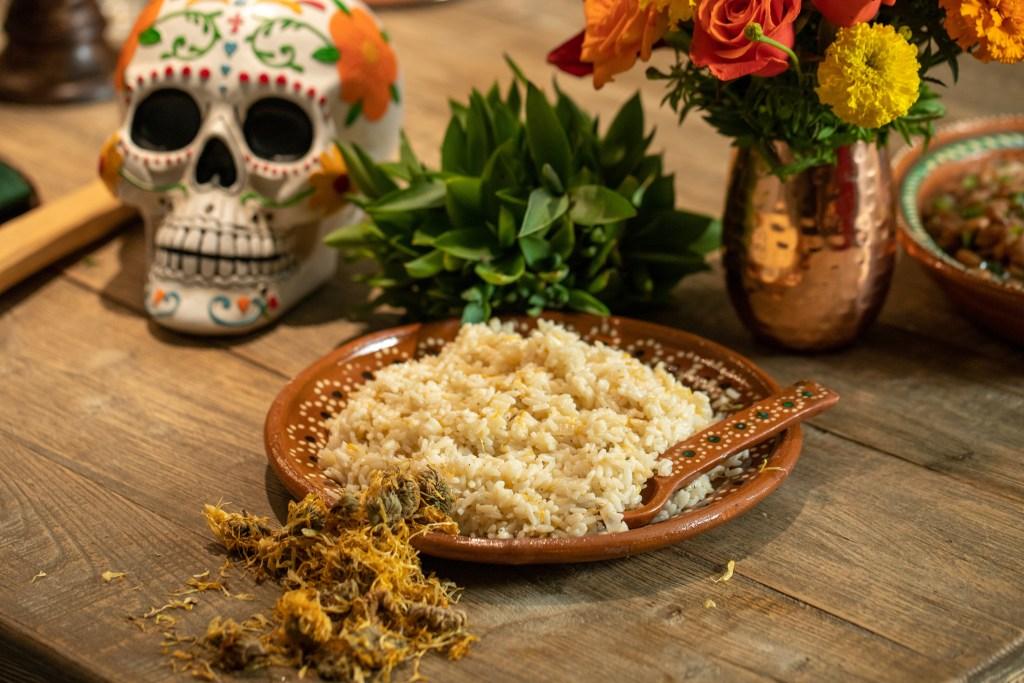 Creamy Marigold Rice