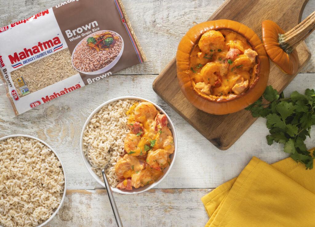 brazilian-shrimp-stuffed-pumpkin-served-over-brown-rice-camarao-na-moranga