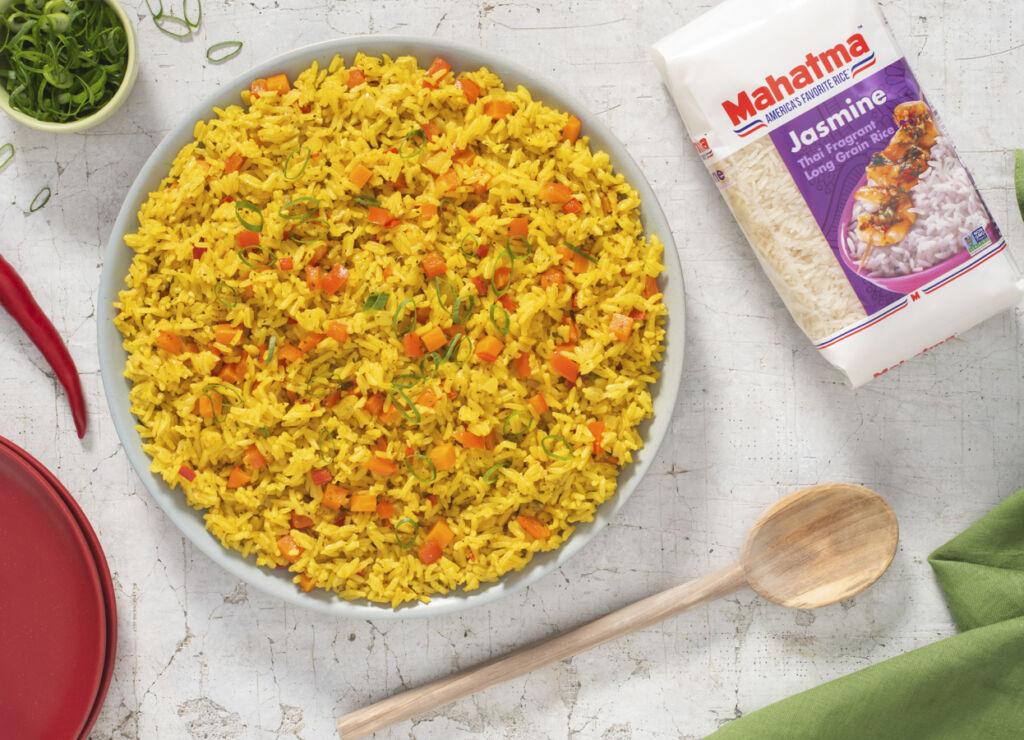 calypso-rice-caribbean-style-with-jasmine-rice