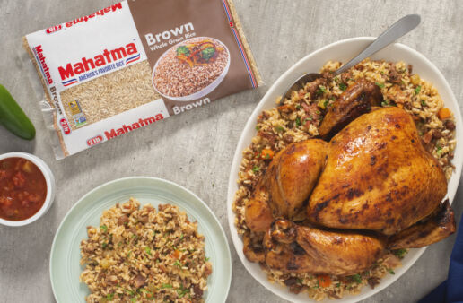 latin-style-oven-roast-chicken-with-brown-rice-pilaf