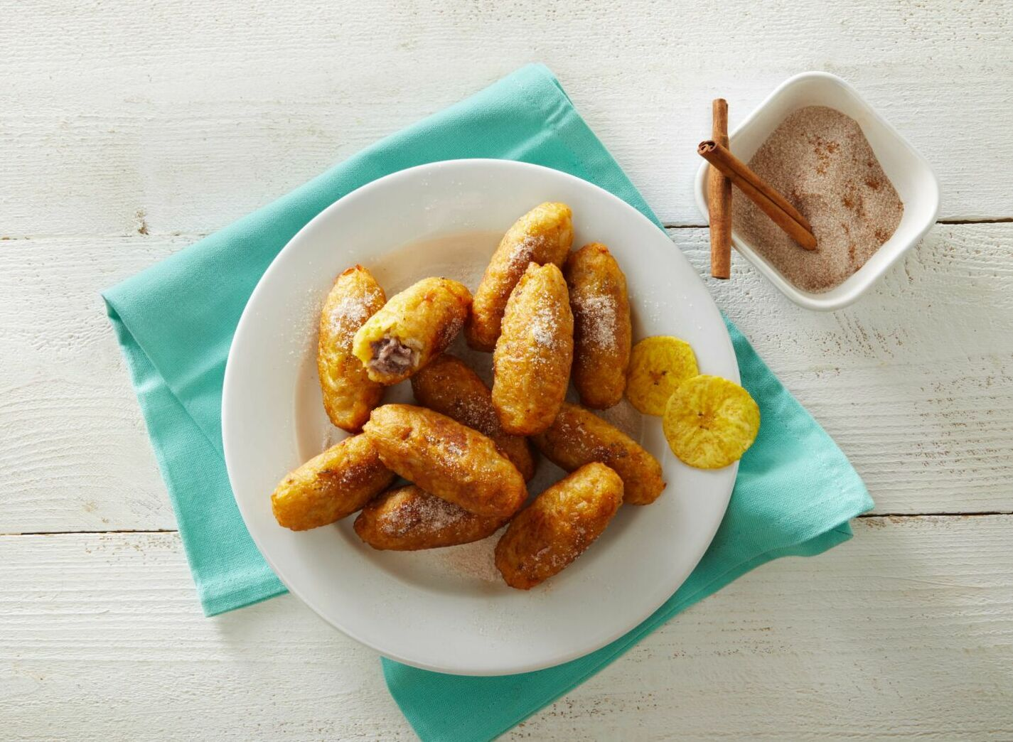 Plantain and Rice Rellenitos