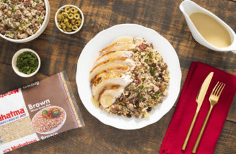 brown-rice-stuffing-with-roasted-turkey-and-pan-gravy