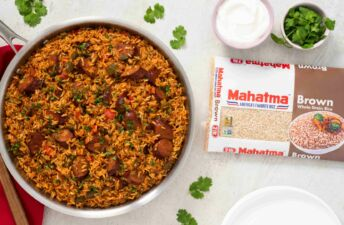 one-skillet-dinner-with-brown-rice-and-mexican-sausage