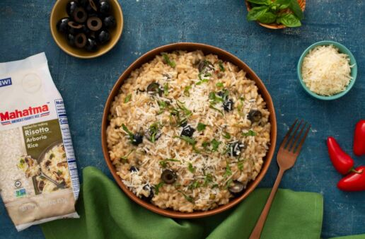 Risotto-puttanesca-with-arborio-rice