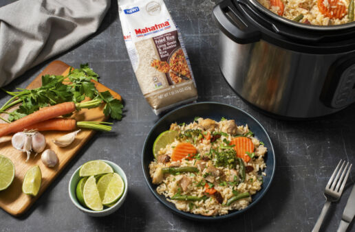 instant-pot-carrots-lime-and-mexican-rice-with-chicken