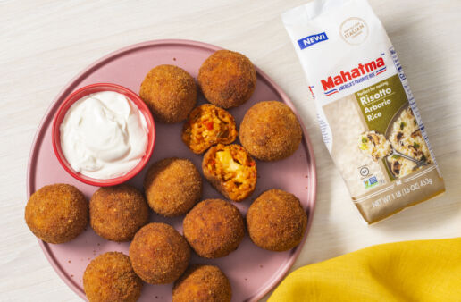 arancini-rice-balls-made-with-arborio-rice-and-arroz-rojo-in-the-air-fryer