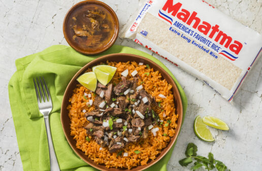 birria-meat-served-over-tomato-rice-made-with-mahatma-white-rice