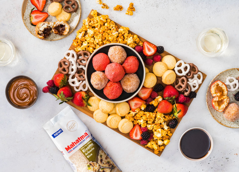 Sweet Arancini Dessert Board