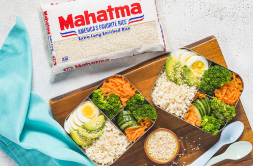 bento-box-with-white-rice-vegetables-avocado-and-boiled-egg