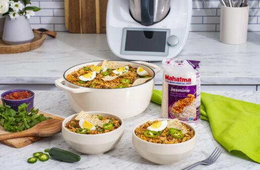 Thermomix-Empanada-Rice-Bowl-with-jasmine-rice